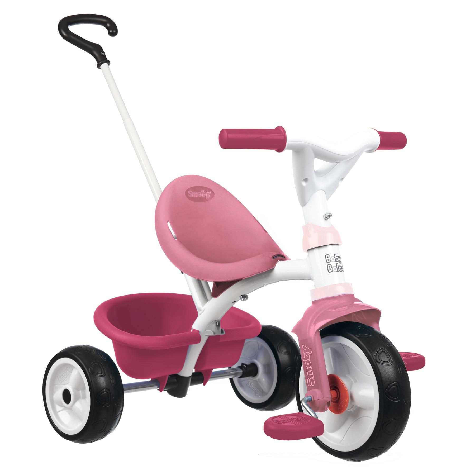 Fotografie Tricicleta Smoby Be Move, cu roti silentioase, roz