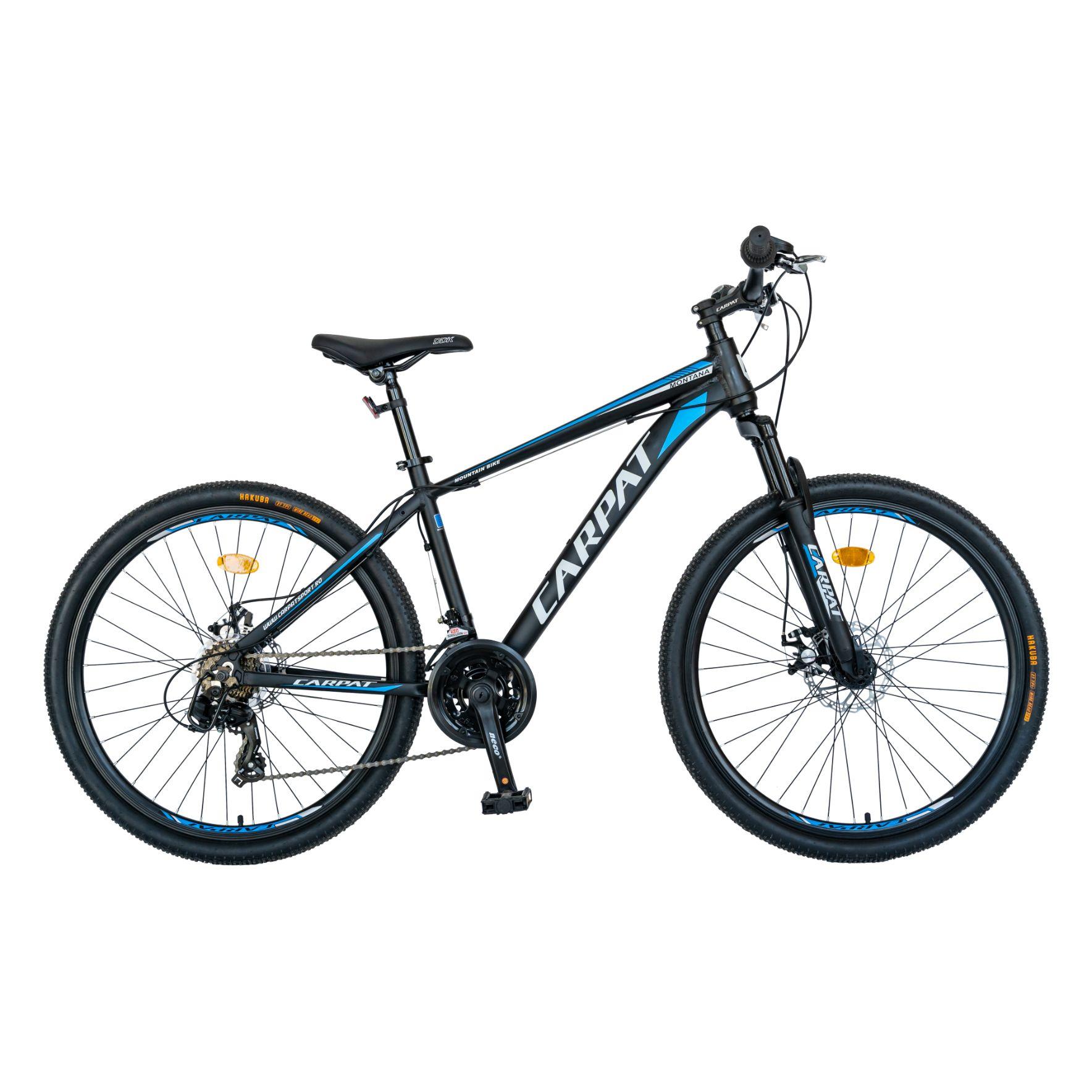 "Fotografie Bicicleta MTB 26"" Carpat C2699A, Negru/Albastru/Alb"
