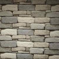 3D skandináv kőfal öntapadós tapéta