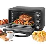 Salter EK4360 Mini sütő, 1500W, 25L, 100-230 fok között állítható, fekete