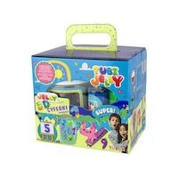 Robentoys® Tubi Jelly 3D Készlet Színezés, 6 szín, számjegy