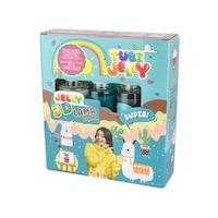 Robentoys® Tubi Jelly 3D Készlet Színezés, 3 szín, Lama