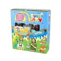Robentoys® Tubi Jelly 3D Készlet Színezés, 3 szín, élénk