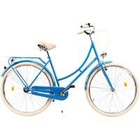 """DHS Citadinne 2832 City kerékpár, 28""""-as kerék, L méret, Kék"""