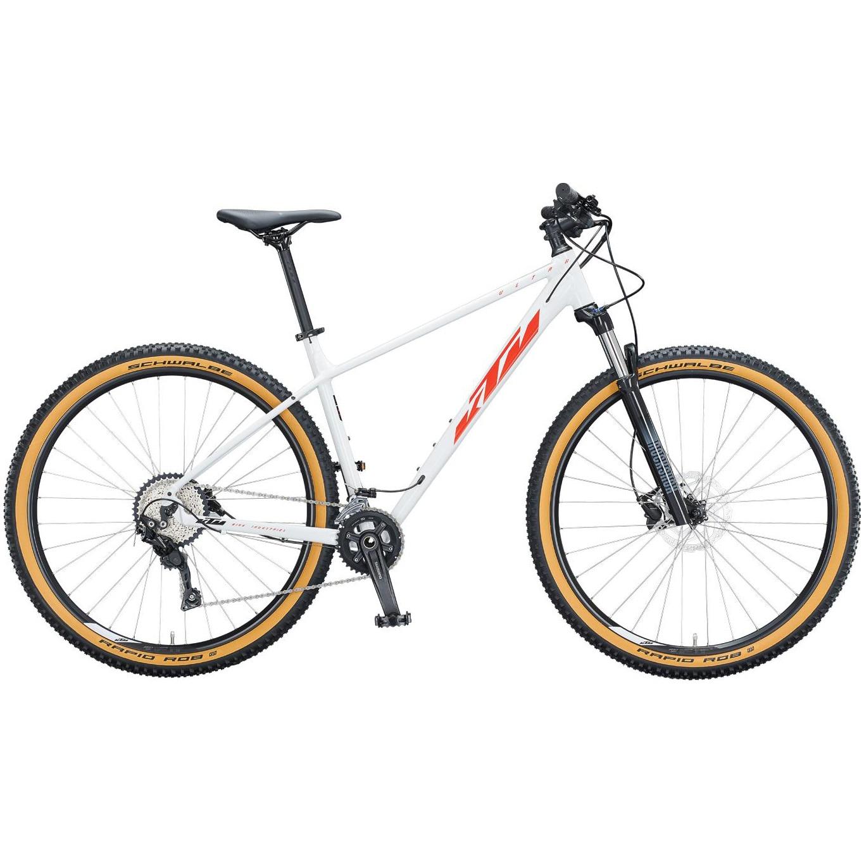 Fotografie Bicicleta KTM Ultra Flite 29-er, White/Fire Orange, L, 48cm