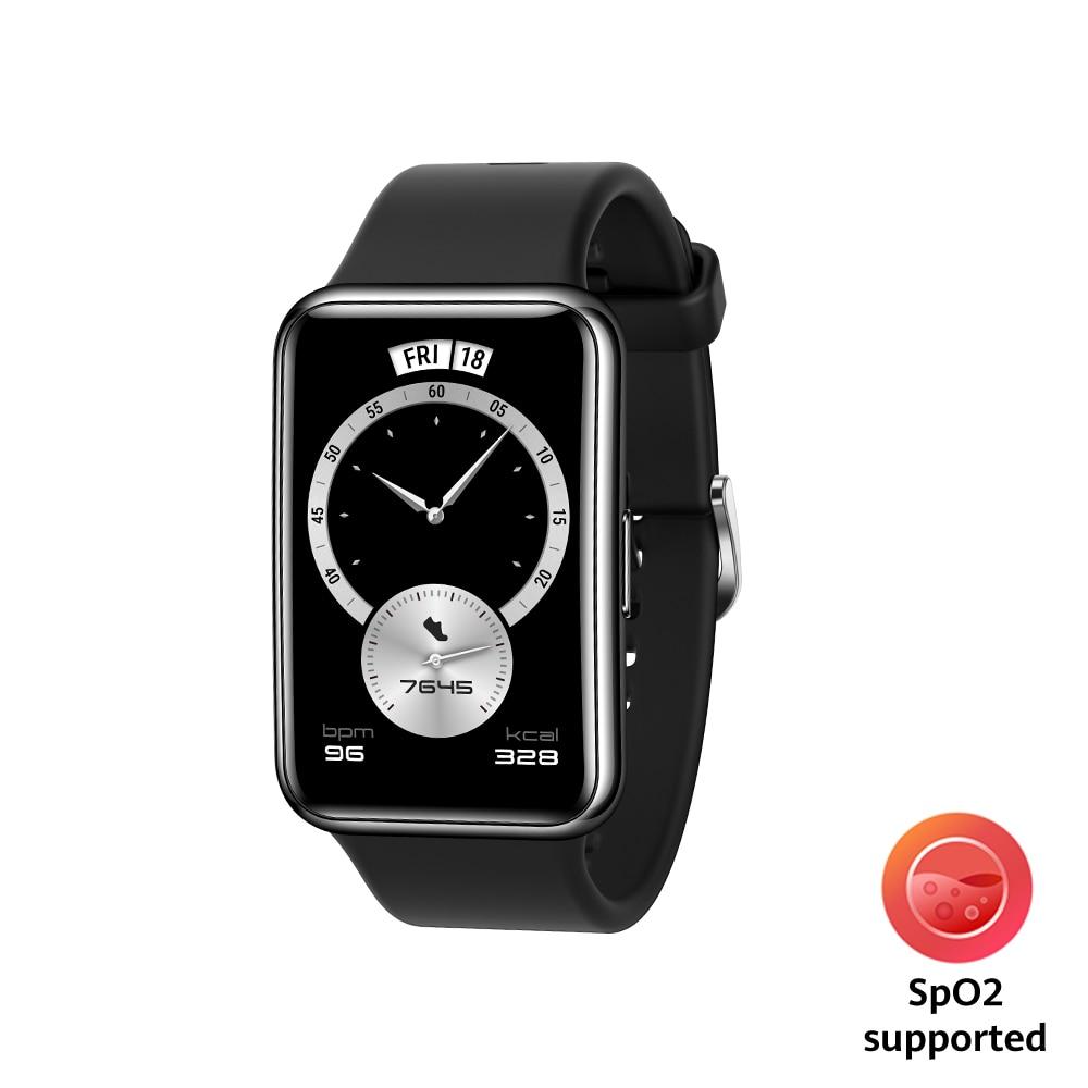 Fotografie Ceas smartwatch Huawei Watch Fit Elegant, Midnight Black