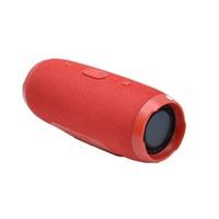 Boxa Portabila KlaussTech, Charge 3, 20W, USB, Waterproof, Bluetooth, Power Bank, Compact si Ergonomica, Rosu