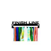 Закачалка за медали JJDisplays, Метални, черен, Finish Line