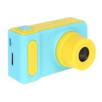 Digitális fényképezőgép gyerekeknek, SD kártya támogatással, beépített játékokkal - Kék
