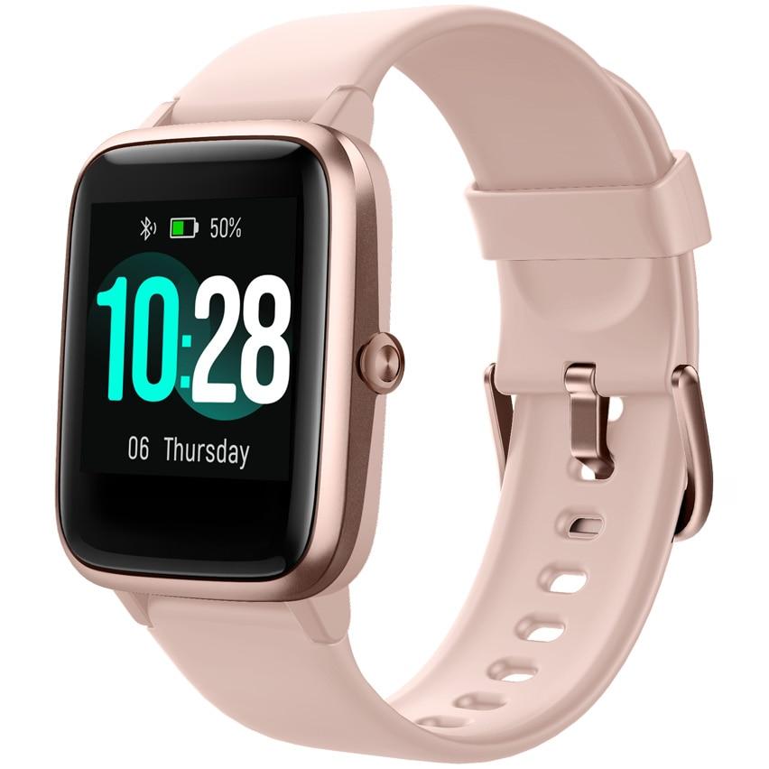 Fotografie Ceas Smartwatch Ulefone, 42mm, Coral Pink