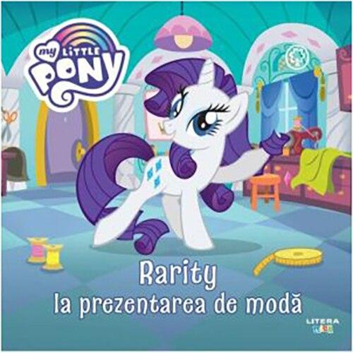 Fotografie My little pony.Rarity la prezentarea de moda