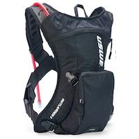Uswe Outlander 3 hátizsák, 1,5 literes ivózsákkal, fekete
