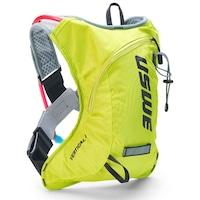 Uswe Vertical 4 Plus hátizsák, 2 literes ivózsákkal, UV sárga