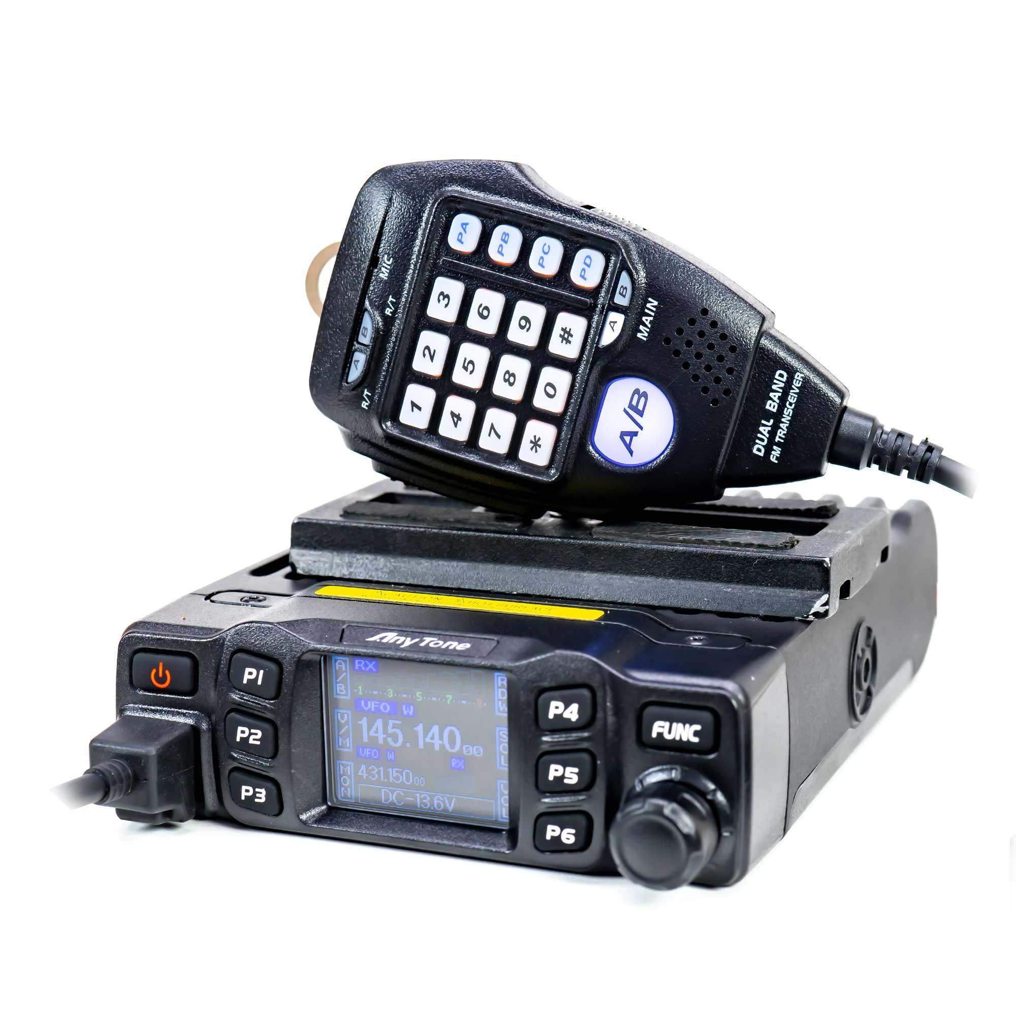 Fotografie Statie radio VHF/UHF PNI Anytone AT-778UV dual band 144-146MHz/430-440Mhz