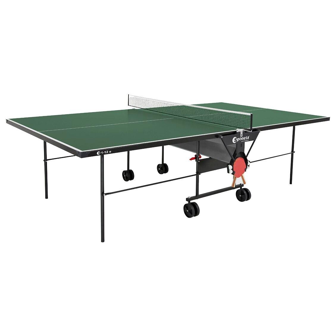 Fotografie Masa tenis Sponeta S 1-12 e, pentru exterior, verde, fileu inclus