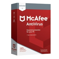 McAfee Antivirus 2020 - Unlimited Device (10 Device) 1 year