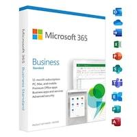 Microsoft Office 365 Business Standard 5-PC/MAC 1 year