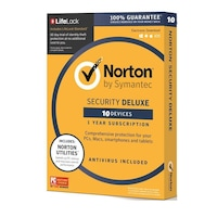 Norton 360 Deluxe 10 Device 1 year EURO