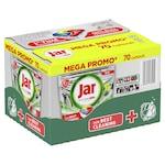 Jar Platinum-Plus Yellow mosogatógép tabletta Box, 70db