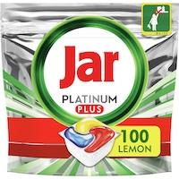Jar Platinum Plus mosogatógép tabletta, citrom, 100db