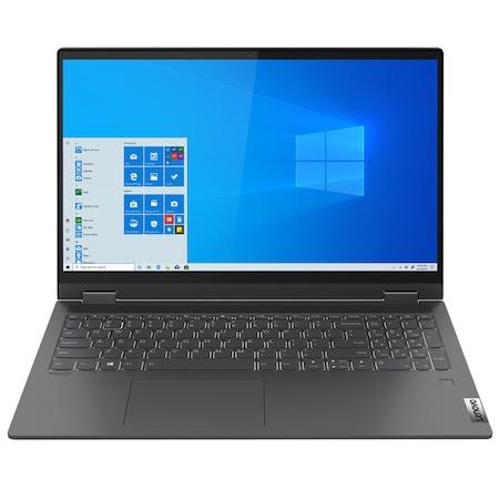 "Лаптоп 2в1 LENOVO IdeaPad Flex 5 15ALC05, 15.6"", AMD Ryzen™ 7 5700U, RAM 16GB, SSD 512GB, AMD Radeon™ Graphics, Microsoft Windows 10 Home, Graphite Grey"