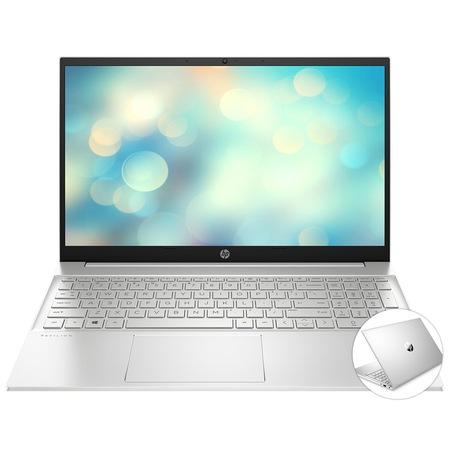 "Лаптоп HP Pavilion 15-eh0004nu, 2B9F6EA#AKS.250SSD, 15.6"", AMD Ryzen 5 4500U (6-ядрен), AMD Radeon Graphics, 8GB 3200MHz (2x4GB) DDR4, Сребрист"