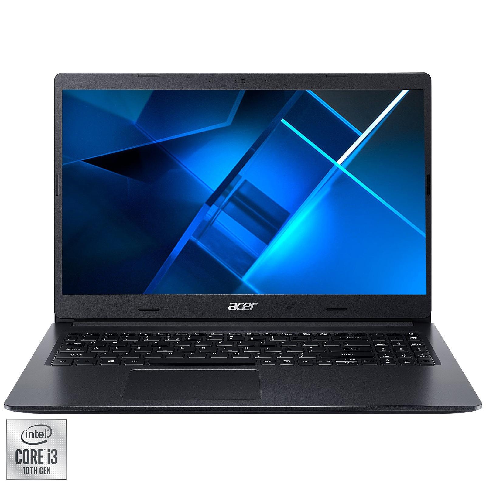 "Fotografie Laptop Acer Extensa 15 EX215-53G cu procesor Intel® Core™ i3-1005G1 pana la 3.40 GHz, 15.6"", HD, 8GB, 512GB SSD, NVIDIA® GeForce® MX330 2GB, No OS, Black"