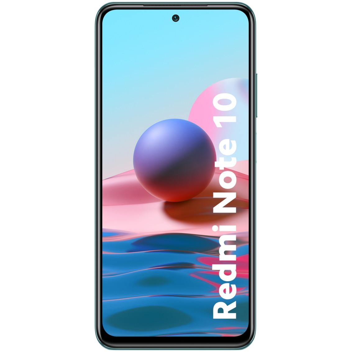 Fotografie Telefon mobil Xiaomi Redmi Note 10, Dual SIM, 128GB, 4G, Lake Green