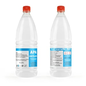 diferenta dintre apa plata si apa distilata)