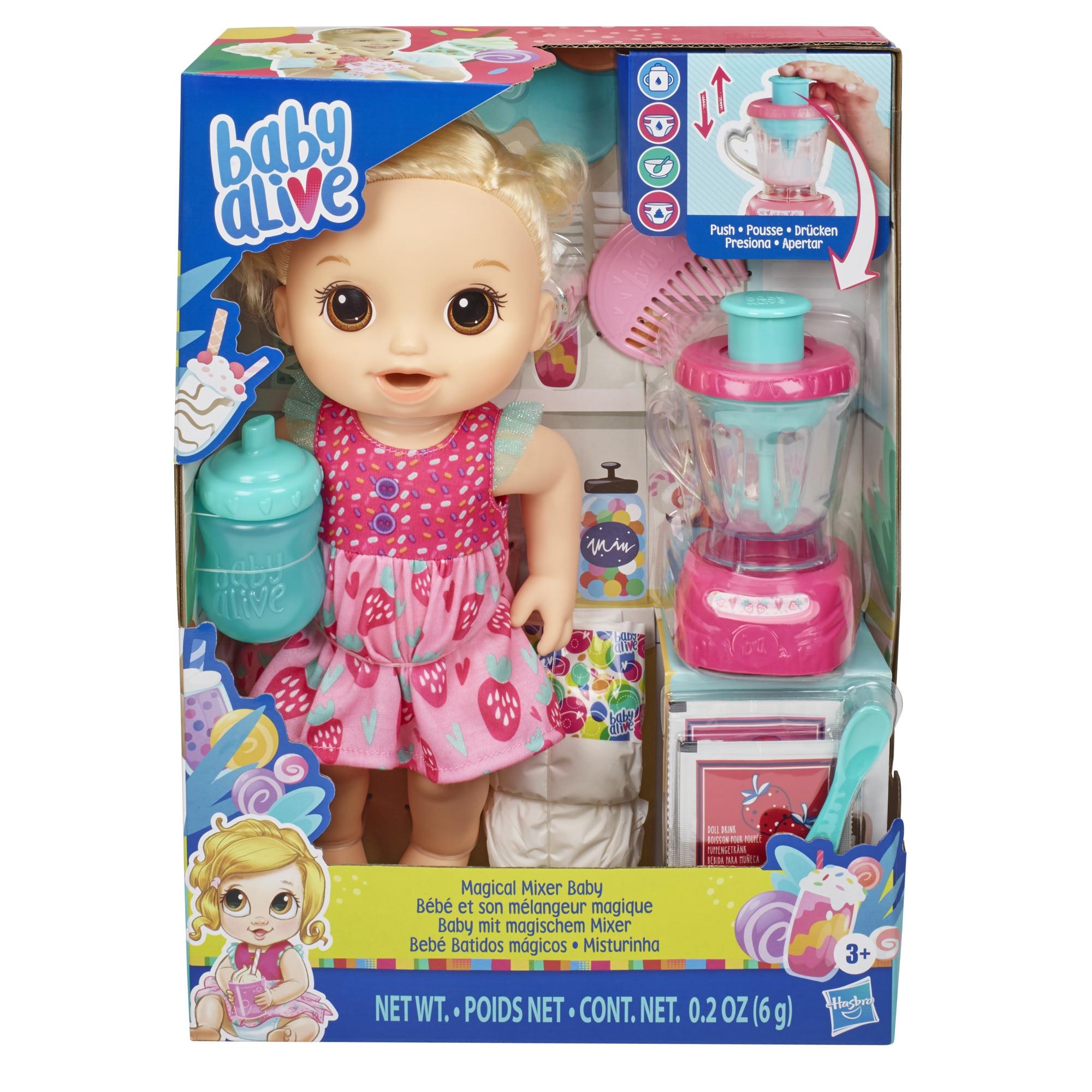 Fotografie Bebelus Baby Alive - Magical Mixer, fetita blonda