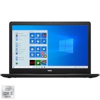 "Лаптоп Dell Inspiron 3793, 17.3"", Intel® Core™ i3-1005G1, RAM 8GB, SSD 256GB, Intel® UHD Graphics, Microsoft Windows 10 Home, Black"