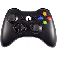 Vezeték nélküli Xbox 360 kompatibilis fekete kontroller