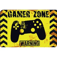 Gamer zone warning feliratos lábtörlő