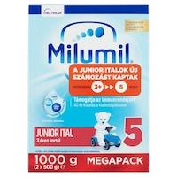 Milumil 5 Junior ital 3 éves kortól, 2 x 500 g (1000 g)