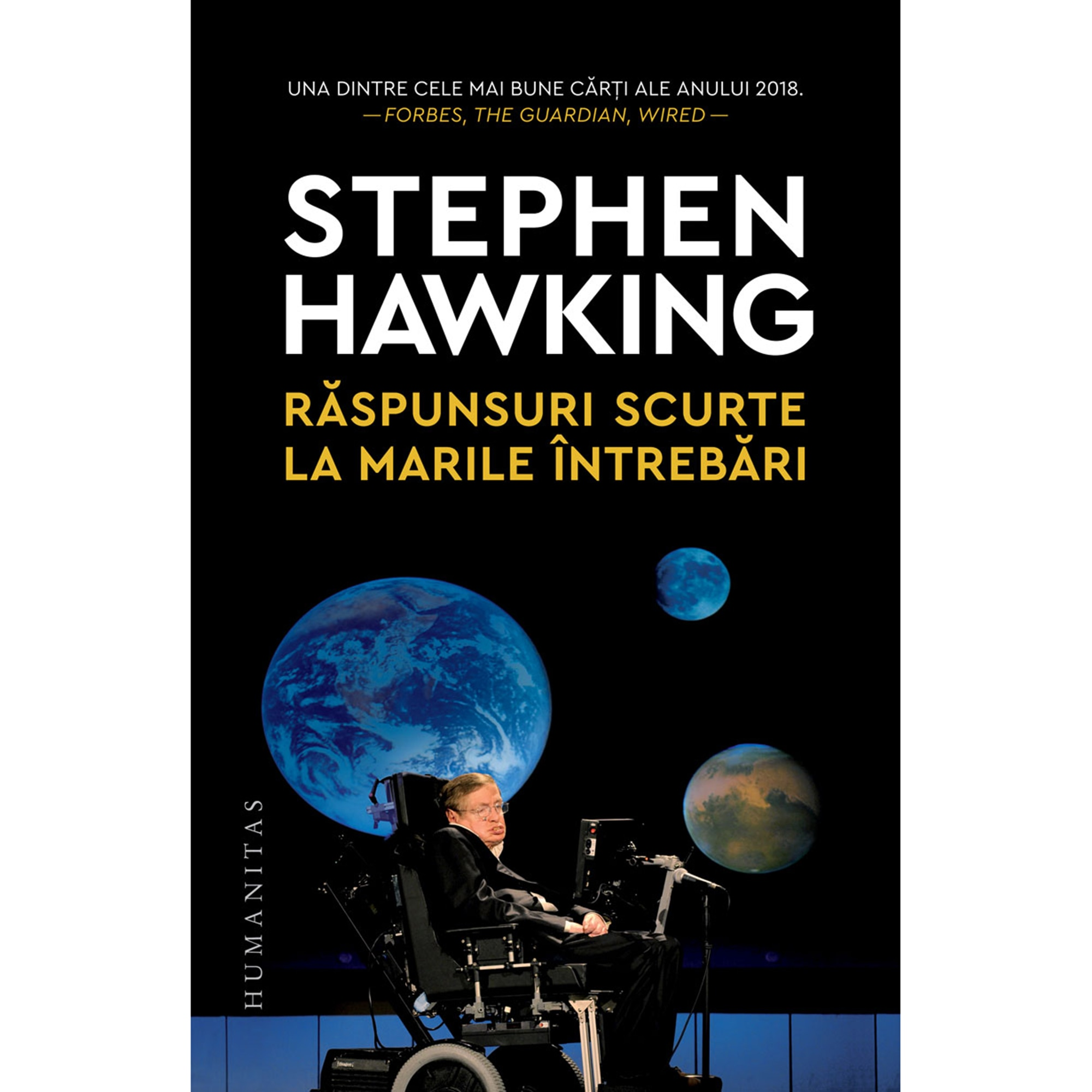 Raspunsuri scurte la marile intrebari, Stephen Hawking - eMAG.ro