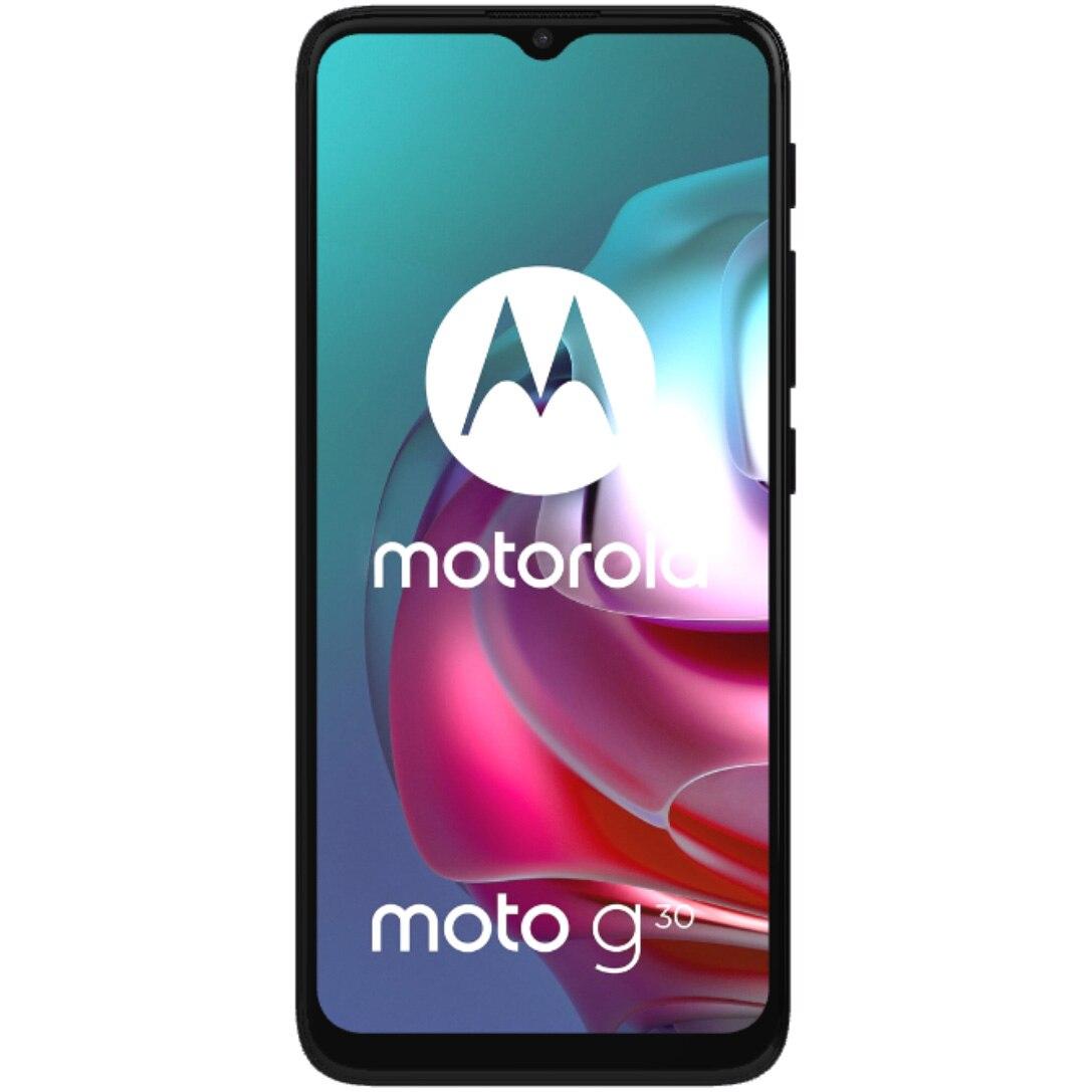 Fotografie Telefon mobil Motorola Moto G30, Dual SIM, 128GB, 4G, Dark Pearl