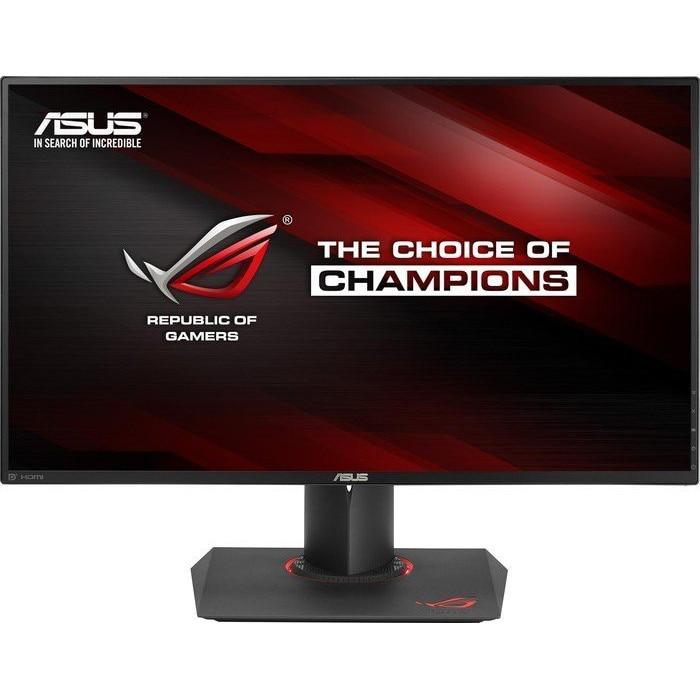 "Fotografie Monitor Gaming LED IPS ASUS ROG 27"", Ultra HD, HDMI, Display Port, Negru, PG27AQ"