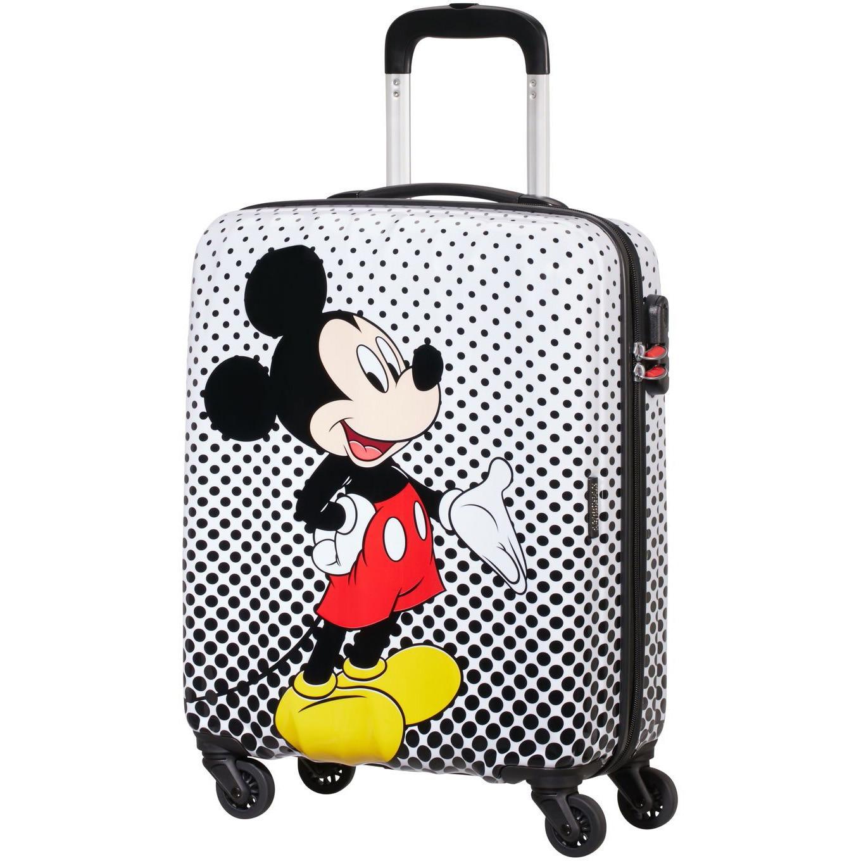 Fotografie Troler American Tourister Disney Legends, Polka Mickey, 55x40x20 cm