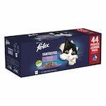 Felix Fantastic Multipack 44x85g marhahús / csirke / lazac / tonhal zselében