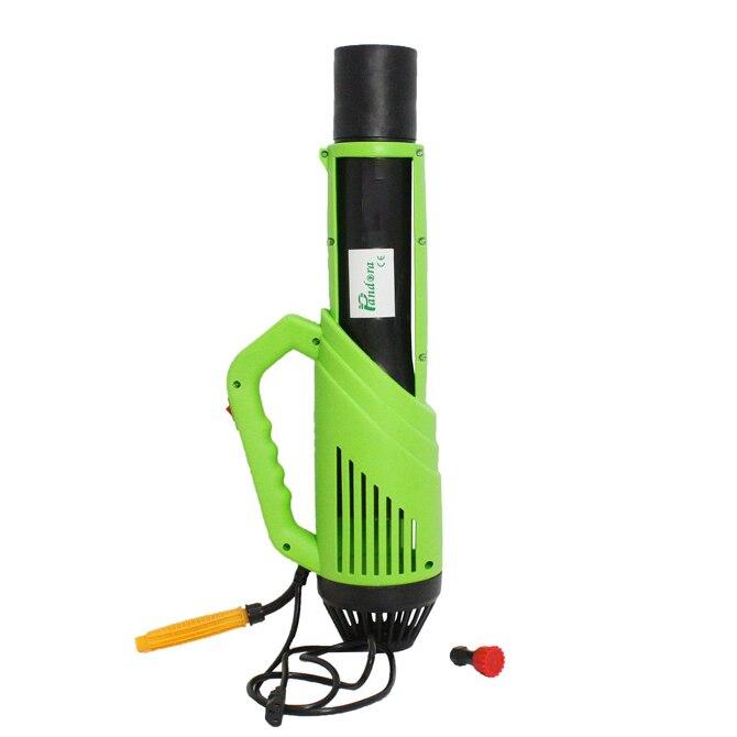 Fotografie Atomizor electric portabil Micul Fermier GF-1522, 30 W, 1.5 l capacitate rezervor solutie, verde/negru