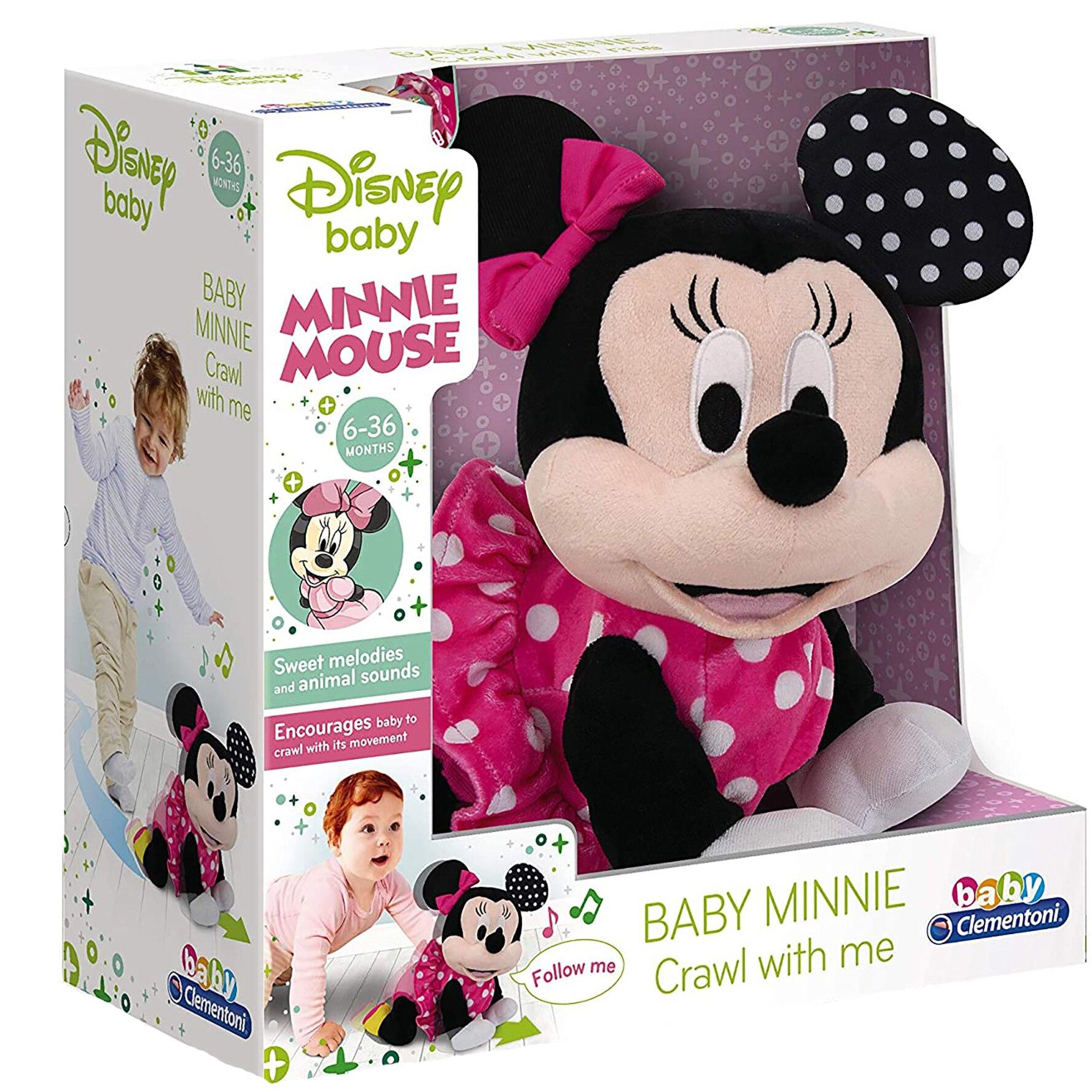 Fotografie Jucarie de plus interactiva Clementoni - Disney Minnie Mouse, Primii Pasi