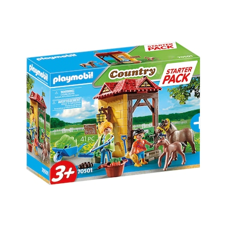 Playmobil Country, Horse Farm - Starter Pack, Ферма за коне