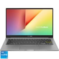 "Laptop ultraportabil ASUS VivoBook S13 S333EA cu procesor Intel® Core™ i5-1135G7 pana la 4.20 GHz, 13.3"", Full HD, 8GB, 512GB SSD, Intel Iris Xᵉ Graphics, No OS, Indie Black"