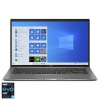 "Laptop ultraportabil ASUS VivoBook S14 S435EA cu procesor Intel® Core™ i7-1165G7 pana la 4.70 GHz, 14"", Full HD, 16GB. 512GB SSD, Intel® Iris Xe Graphics, Windows 10 Home, Deep Green"