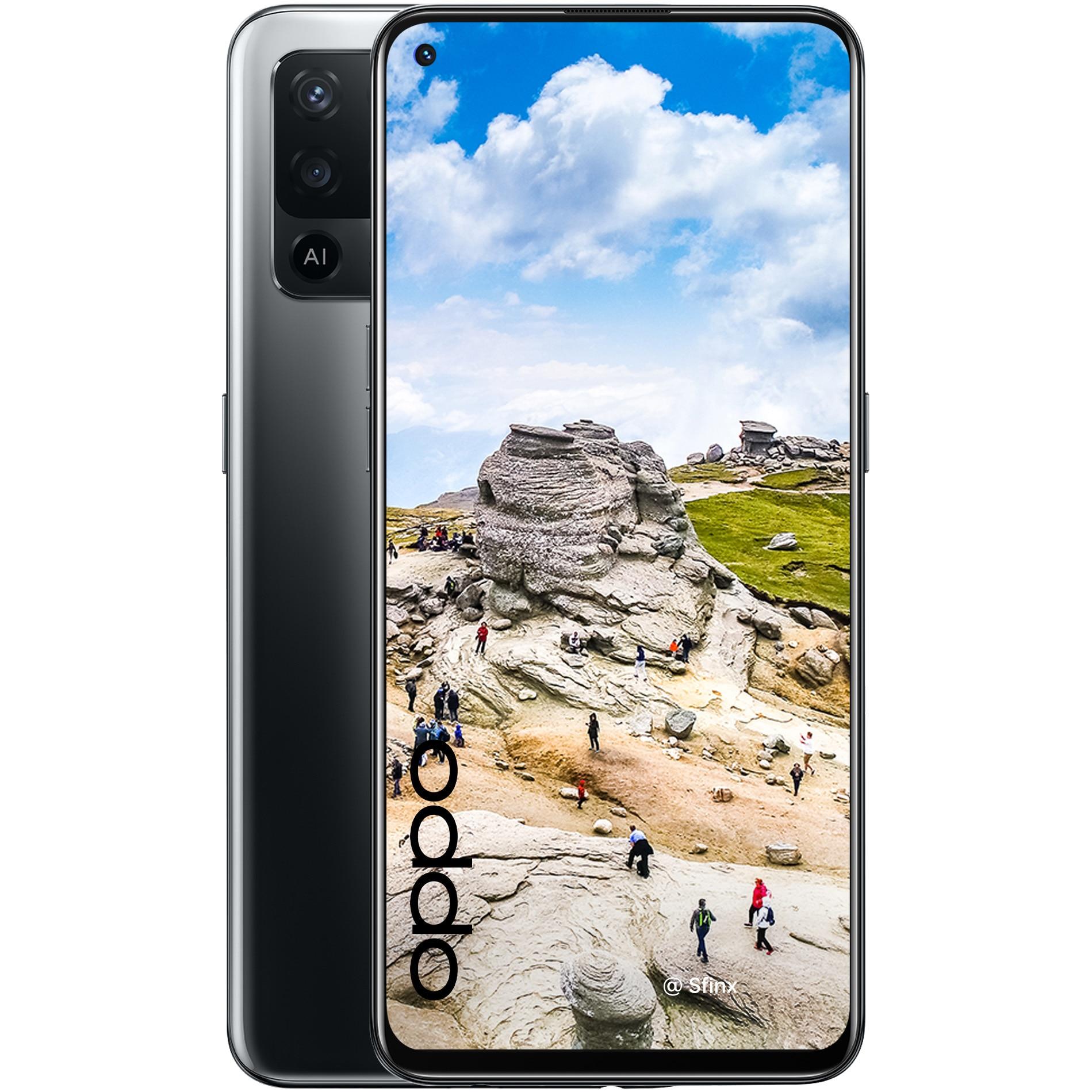 Fotografie Telefon mobil OPPO Reno 5 Lite, Dual SIM, 128GB, 8GB RAM, 4G, Fluid Black