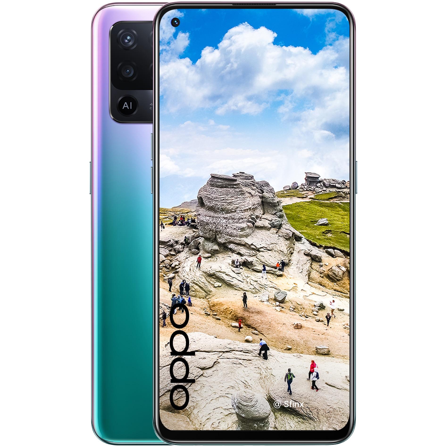 Fotografie Telefon mobil OPPO Reno 5 Lite, Dual SIM, 128GB, 8GB RAM, 4G, Fantastic Purple