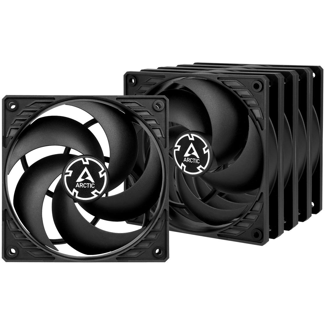 Fotografie Ventilator ARCTIC P12 Value Pack Black, 120mm