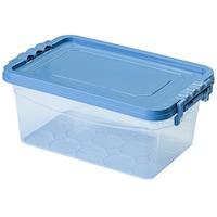 Mabadi 10887 Tároló doboz kék tetővel, 4L