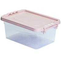 Mabadi 10888 Tároló doboz pink tetővel, 4L