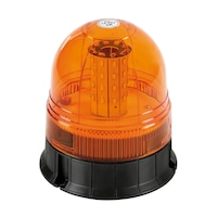 Sztroboszkópos sárga villogó LED-es 12/24V - RL-5